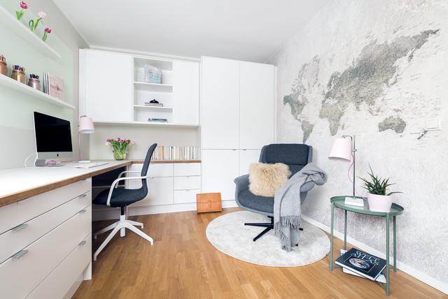 Arbeitszimmer ikea  Homeoffice meets IKEA - Skandinavisch - Arbeitszimmer - Berlin - von ...