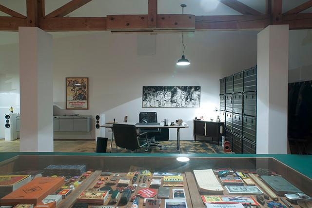 loft in düsseldorf moderne-bureau-a-domicile