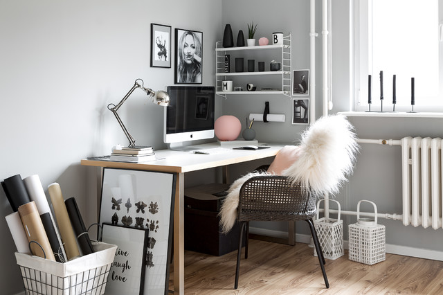 maisonette wohnung der instagramerin melike von easyinterieur scandinavian home office. Black Bedroom Furniture Sets. Home Design Ideas