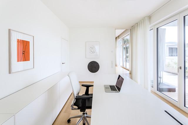 Penthouse bonn minimalistisch arbeitszimmer köln von