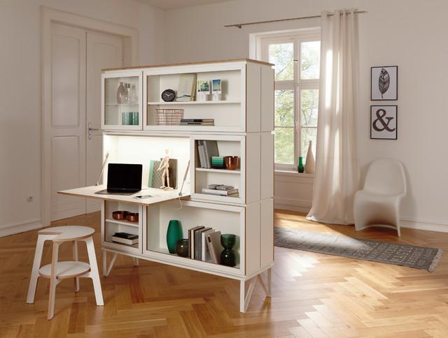 setup: Der Wohnbaukasten als Raumteiler (mit Sekretär, Regal ...