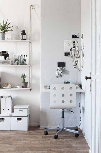 nordische klarheit kreativit t scandinavian home office berlin by hej hem. Black Bedroom Furniture Sets. Home Design Ideas