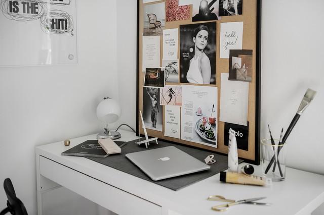 Inspiration för minimalistiska arbetsrum
