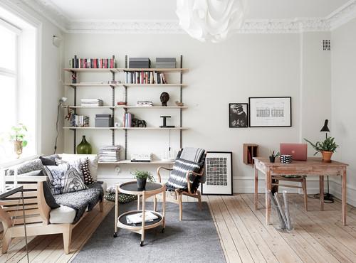 Arbeiten im Wohnzimmer: Tipps für ein gemütliches Home Office
