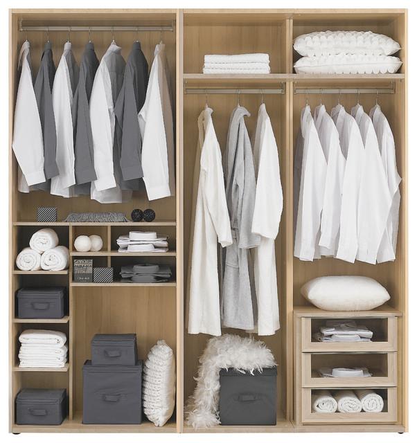Muebles vestidores modernos ODEA - Modern - Förvaring & garderob ...