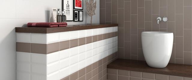 Cuarto de baño   Azulejos para baños - Mid-Century ...