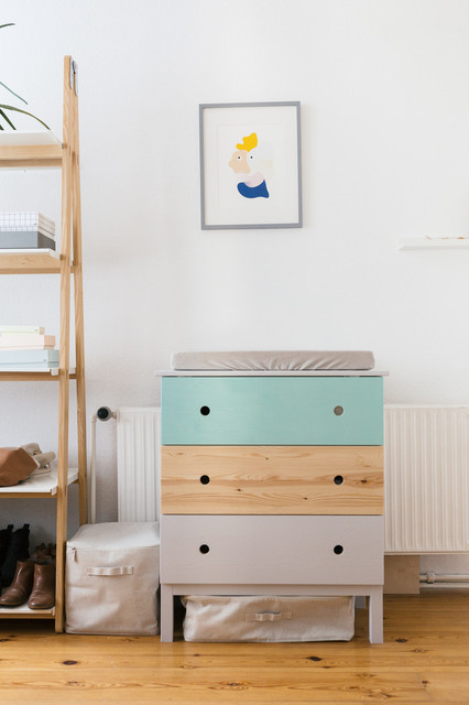 diy changing table wickeltisch ikea hack skandinavisch babyzimmer berlin von hejm. Black Bedroom Furniture Sets. Home Design Ideas
