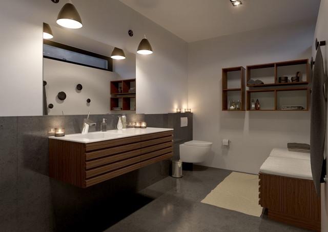 ... Køkkener - Moderne - Badeværelse - Esbjerg - af Fredshule Byg ApS