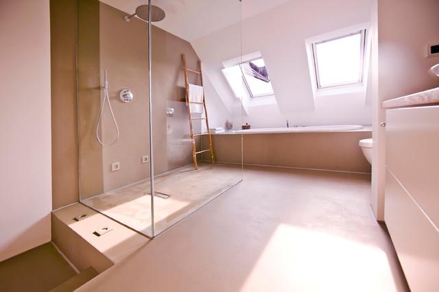 140 qm galeriewohnung in münchen - modern - badezimmer - münchen