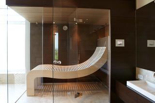 4 teilige glasfront ber eck. Black Bedroom Furniture Sets. Home Design Ideas