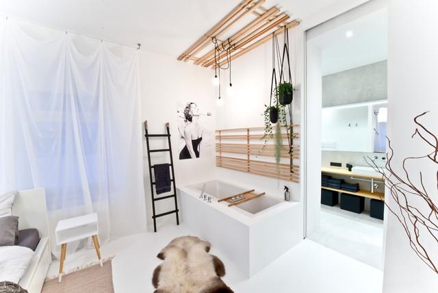 70 qm loft in münchen - skandinavisch - badezimmer - münchen - von