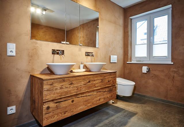 ... Altholzbad Modern Badezimmer M Nchen Von Holztraum For Bad Modern Holz  ...