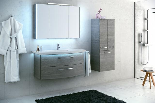 Artiqua 215 contemporain console et meuble sous lavabo for Console lavabo salle de bain