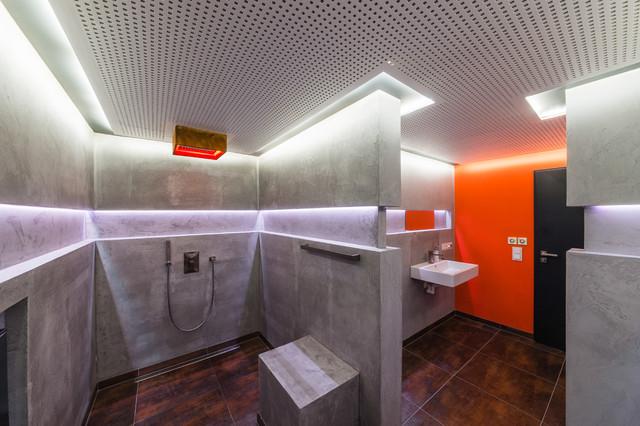 Aus Alt Mach Neu: Um  Und Anbau Eines Schweinestalls Modern Badezimmer
