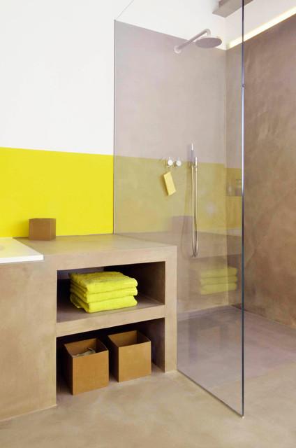 bad im altbau  modern  badezimmer  frankfurt am main