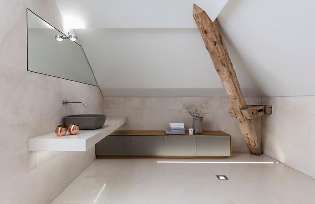 badezimmer dachgeschoss, bad im dachgeschoss - modern - bathroom - other - by rolf, Badezimmer