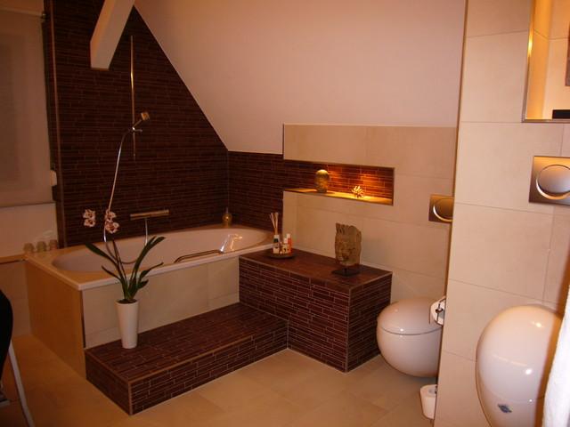 Bad modern dachschräge  Bad mit Dachschräge - Modern - Badezimmer - Berlin - von Badkultur ...