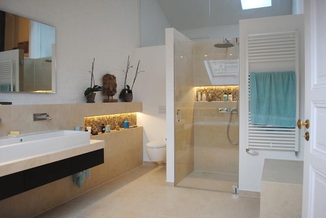 Bad unterm Dach - Modern - Badezimmer - Berlin - von ...