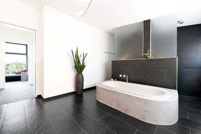 Badewanne Aus Beton Modern Badezimmer