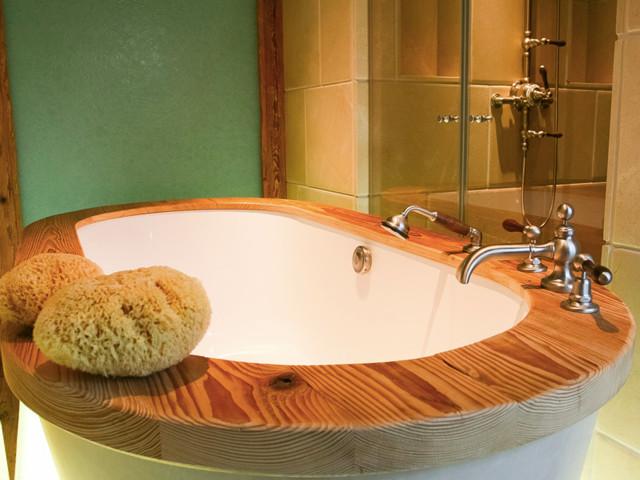 badewanne rustikal, badewanne - rustikal - badezimmer - münchen - von derschreinerhuber., Design ideen
