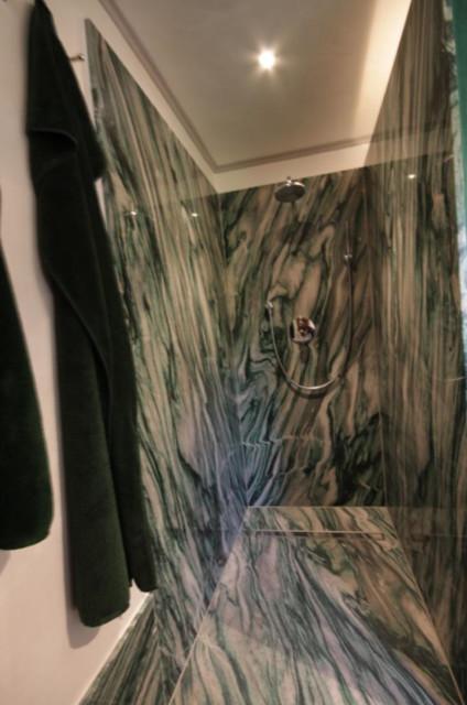 Badezimmer Aus Dem Naturstein Verde Lapponia Modern Badezimmer