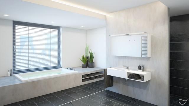 Badezimmer Design MANHATTAN Modern Badezimmer