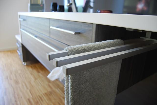 Badezimmer handtuchhalter design for Handtuchhalter modern