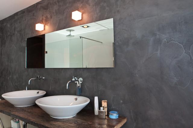 Badezimmer Modern Schiefer : Badezimmer In Schieferoptik Modern Other Metro  Von Ardex Gmbh