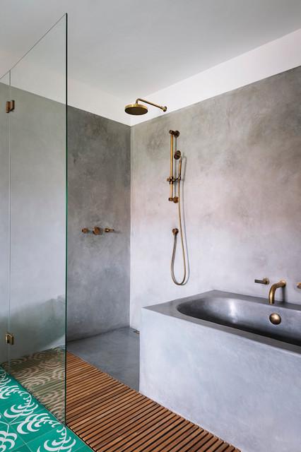 Badezimmer Obergeschoss - Skandinavisch - Badezimmer - München - von ...