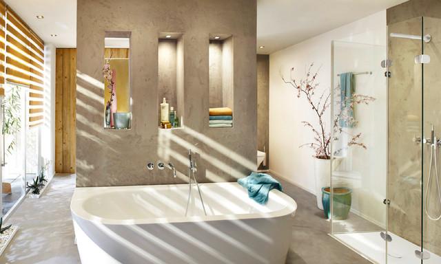 Badezimmer ohne fliesen - Living at home badezimmer ...