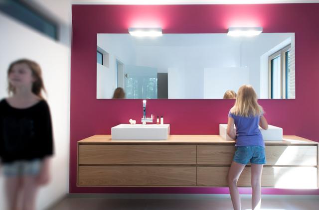 Badmobel Eiche Modern Badezimmer Dortmund Von Holz Total
