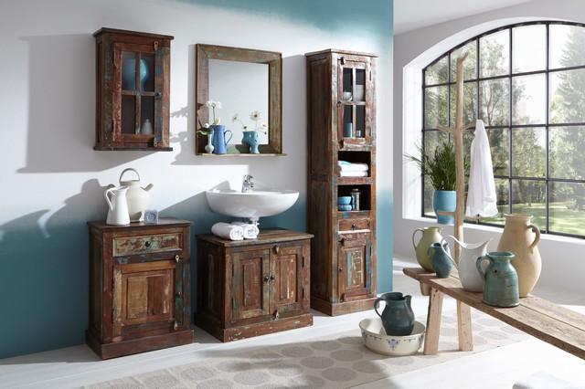 Shabby-chic-style Badezimmer: Design-ideen & Beispiele Für Die ... Badezimmer Shabby Chic