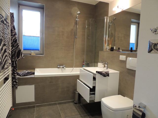 badsanierung in karlsruhe contemporary bathroom. Black Bedroom Furniture Sets. Home Design Ideas