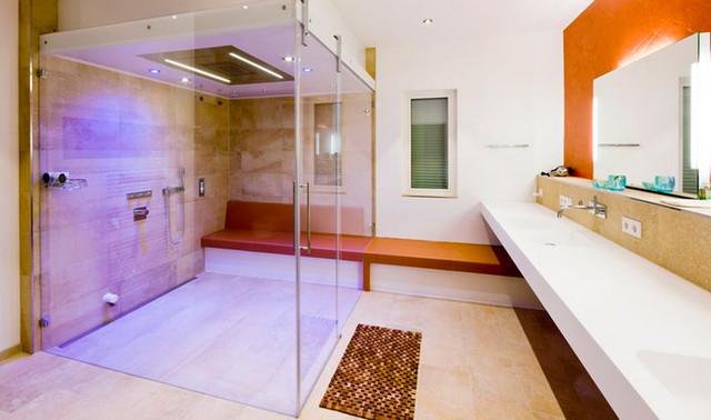 Baufritz bad modern badezimmer stuttgart von repabad - Badezimmer stuttgart ...