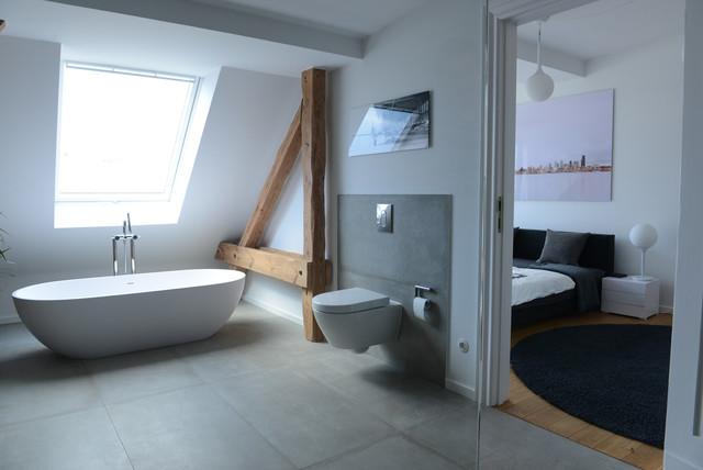 Dachausbau Berlin 2 Modern Badezimmer