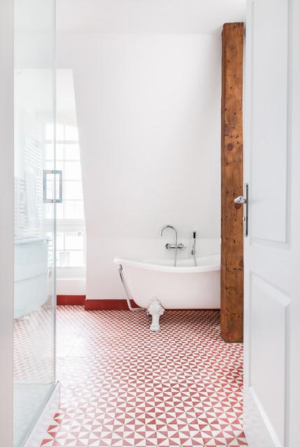badezimmer altbau, dachgeschosswohnung im brandenburger altbau - klassisch - badezimmer, Badezimmer