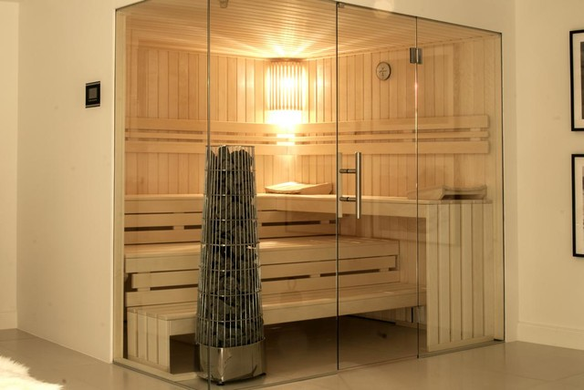 design sauna scandinavian bathroom hanover by. Black Bedroom Furniture Sets. Home Design Ideas