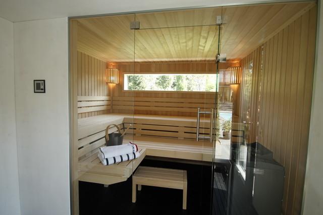 design saunahaus modern badezimmer k ln von. Black Bedroom Furniture Sets. Home Design Ideas