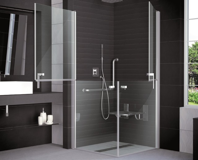 dusche behindertengerecht modern badezimmer k ln von bad design heizung. Black Bedroom Furniture Sets. Home Design Ideas