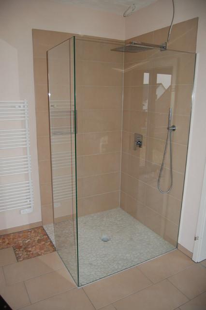 Duschraumgestaltung Modern Badezimmer