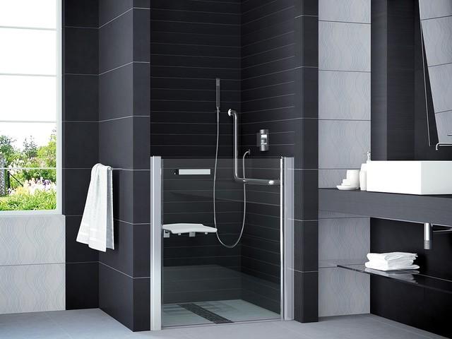 Duschtür Behindertengerecht Contemporary Bathroom