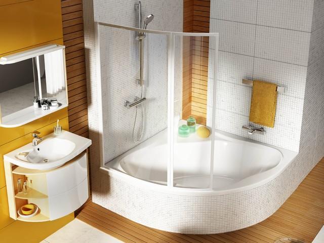 Fesselnd Eckbadewanne Modern Badezimmer