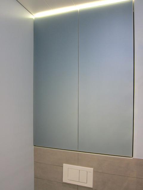 Einbauschrank über Dem WC Modern Badezimmer Köln Von Hansen - Badezimmer einbauschrank
