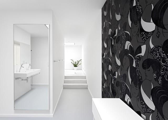 einfamilienhaus architektur in dresden minimalistisch. Black Bedroom Furniture Sets. Home Design Ideas