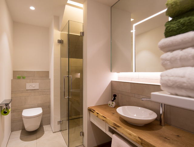Merveilleux Einfamilienhaus Neubau Modern Badezimmer