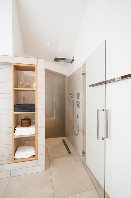einfamilienhaus neubau - modern - badezimmer - bremen - von schulz ... - Einfamilienhaus Neubau Modern