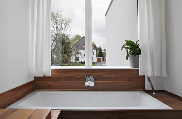 Einfamilienwohnhaus In Dortmund Großbarop Minimalistisch Badezimmer