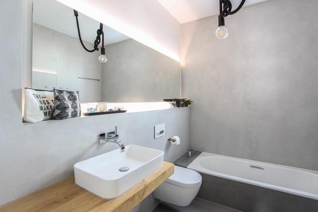 Fugenlose Badgestaltung Im Privathaus Mit Beton Cire Mictotopping