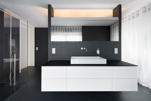 fugenlose b der modern badezimmer stuttgart von maler hoffmann gmbh. Black Bedroom Furniture Sets. Home Design Ideas