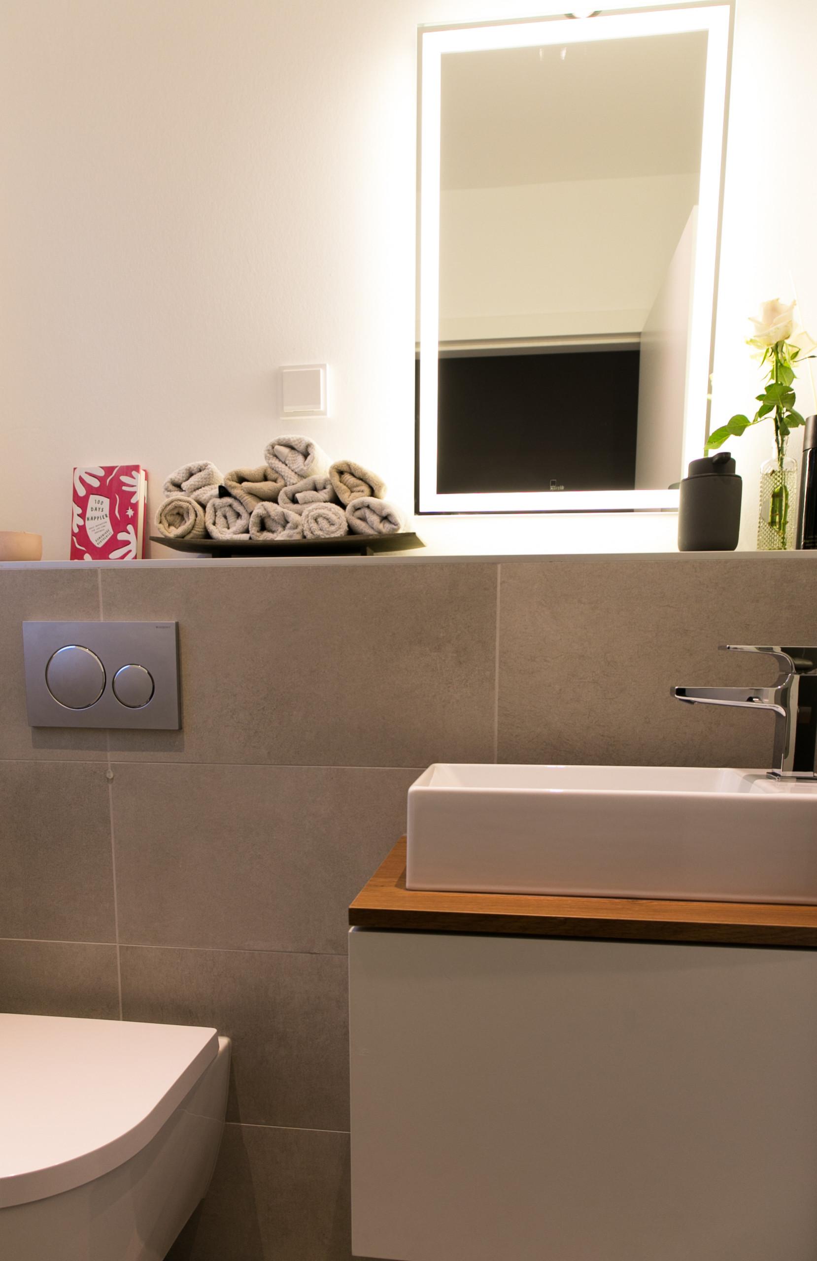 Gäste WC - individuell gestaltet